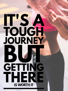 It's a tough journey but getting there is worth it