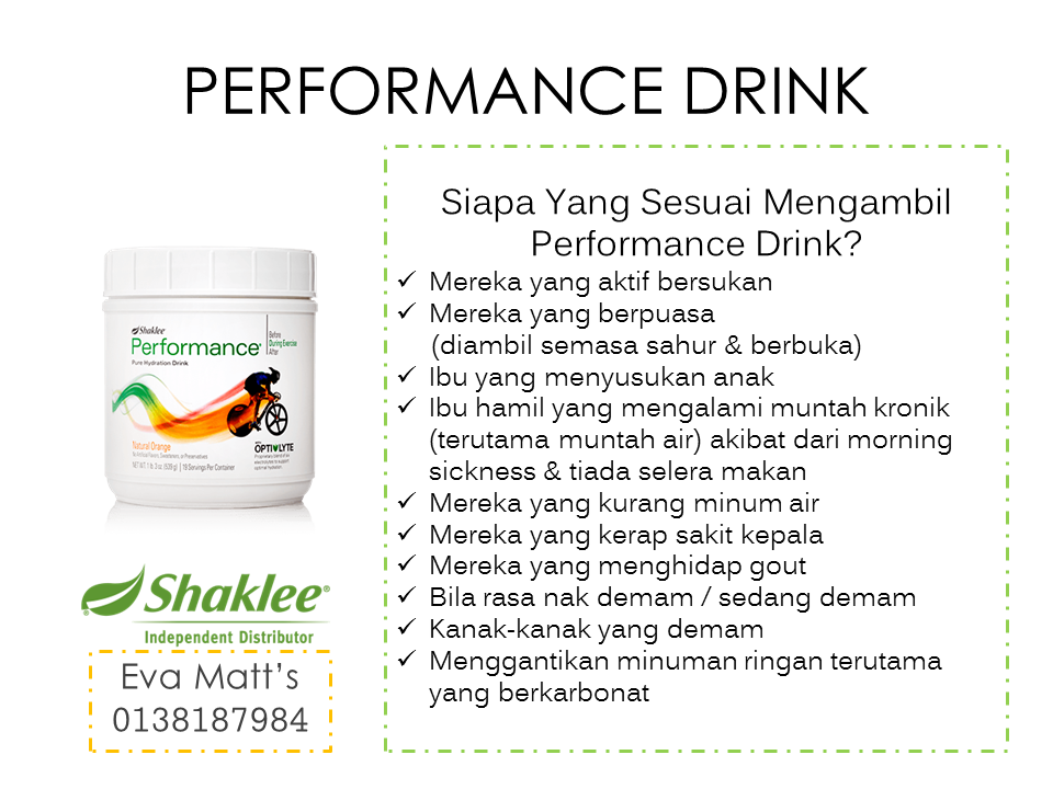 Minuman Isotonik Performance Drink