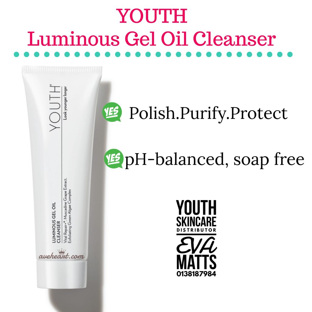 Youth Luminous Gel Oil Cleanser