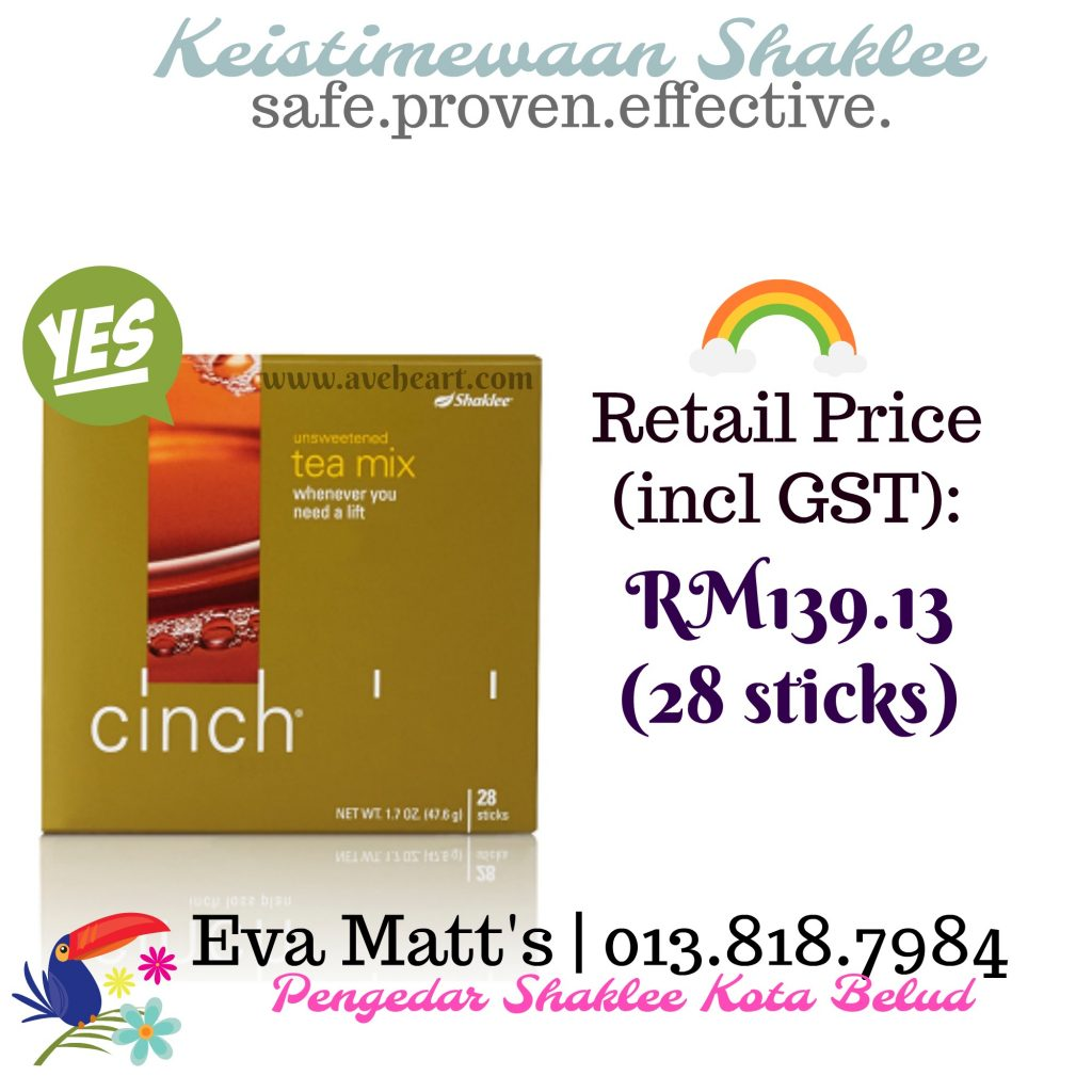 Cinch Energy Tea Shaklee