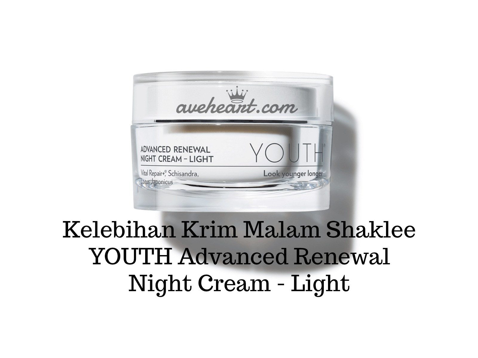 Kelebihan Krim Malam Shaklee YOUTH Advanced Renewal Night Cream - Light