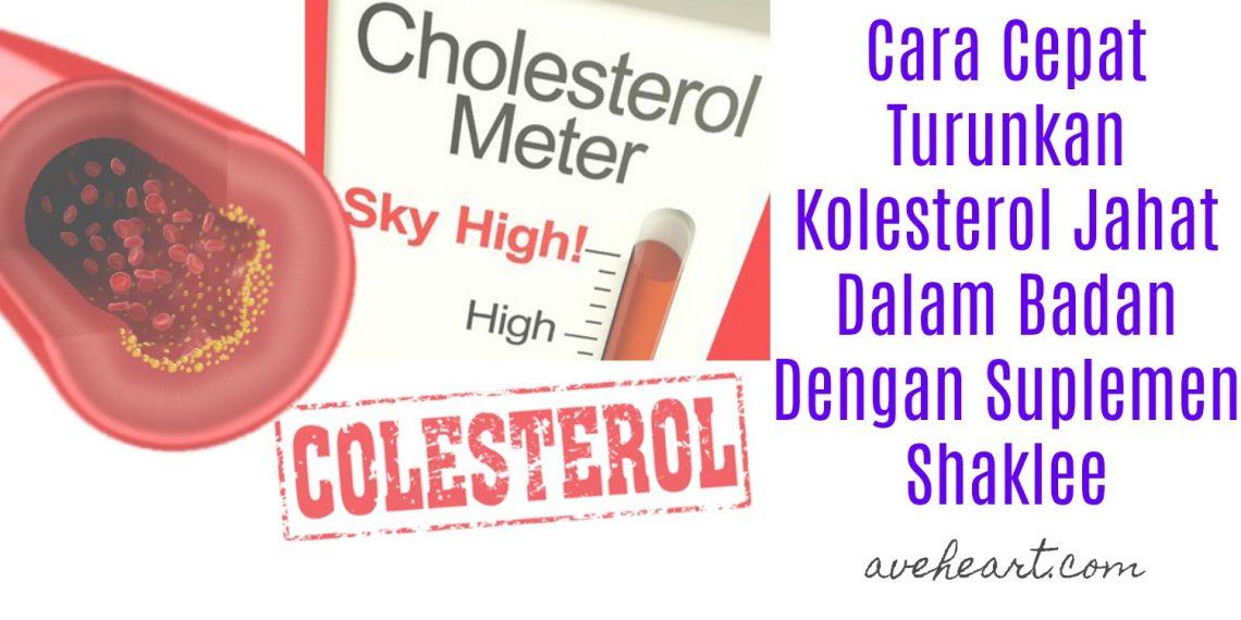 Ubat-Turunkan-Kolesterol-Tinggi-Dalam-Badan